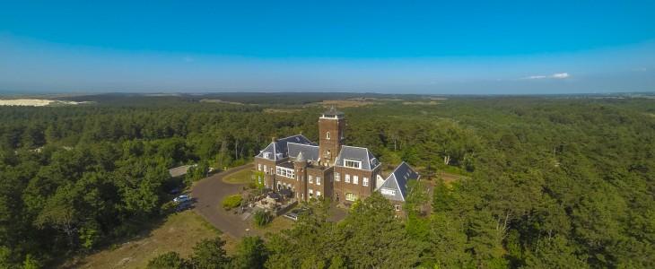 Lucht foto Landgoed Huize Glory